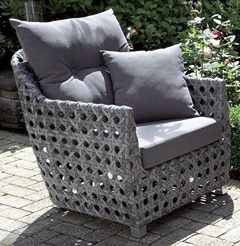 alu loungesessel grau korsika 55710 bxtxh 740 x 720 x. Black Bedroom Furniture Sets. Home Design Ideas