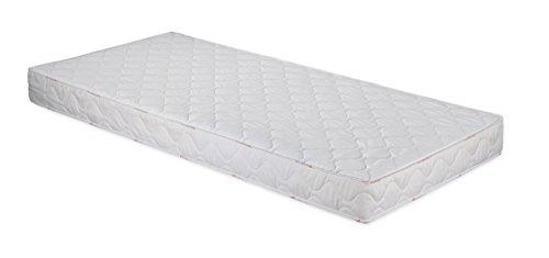 Badenia Bettcomfort 3887860143 Roll-Komfortmatratze, Trendline BT 100 H2 140 x 200 cm, weiß