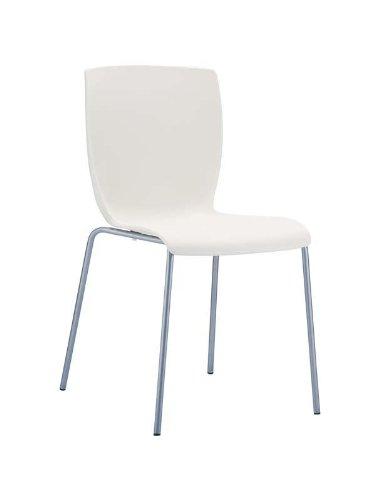 clp aluminium gartenstuhl mio mit kunststoff sitzfl che stapelbar wasserabweisend uv. Black Bedroom Furniture Sets. Home Design Ideas