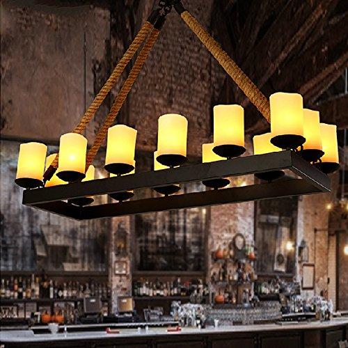 Ling@ Amerikanischen Land Retro Bar-Café -Industrie Kronleuchter Restaurant kreative Persönlichkeit Wohnzimmer Kronleuchter , 60w
