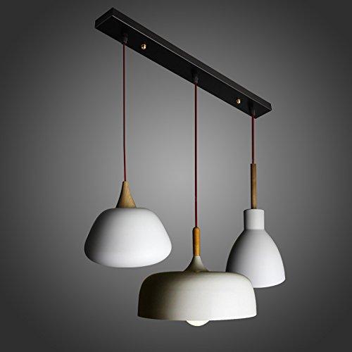 Ling@ Nordic einfachen japanischen Stil Lampen Schlafzimmer Wohnzimmer -Bar-Restaurant Café kreative einzigen Kopf hängen Eiche , 60w