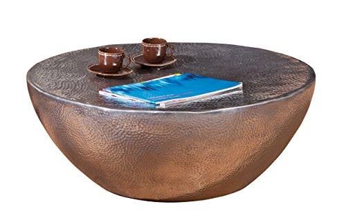 Links 87300500 Couchtisch Lounge Tisch Design Beistelltisch Wohnzimmer Tisch Alu rund 70 cm NEU