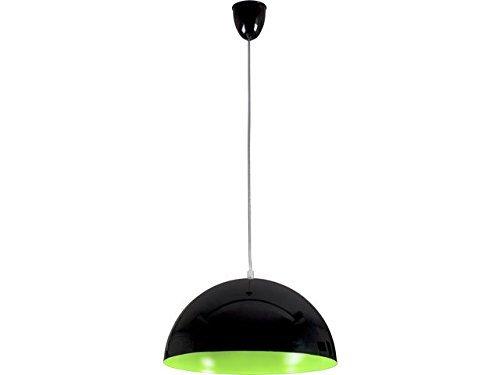 Loft Pendelleuchte in schwarz grün Ø33,5cm Hängelampe Decke Innen Küchenlampen Esszimmer Küche Beleuchtung Innen