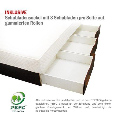 sonderaktion bellvita wasserbett mit schubladen inkl lieferung und aufbau durch fachpersonal. Black Bedroom Furniture Sets. Home Design Ideas