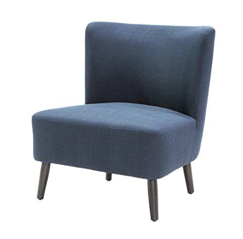 Tenzo 9460-264 Tequila Designer Sessel, Sitzfläche mit Stoffbezug, 80 x 65 x 70 cm, marineblau