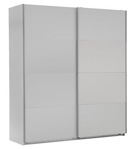 Wimex 507865 Schwebetürenschrank Easy Plus, 135 x 210 x 65 cm, alpinweiß