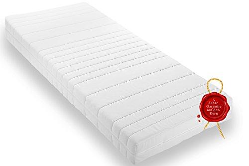 Wohnorama Qualitäts Matratze H2 16cm Gesamthöhe Rollmatratze inkl. Klimafaser, Öko-Tex, umlaufender Reißverschluss, 5 Jahre Garantie* 90x200