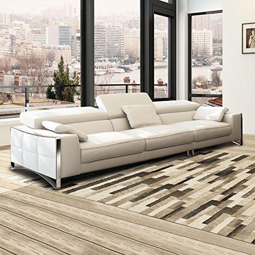 xxl big sofa gusti 4 sitzer echtleder mit kunstleder. Black Bedroom Furniture Sets. Home Design Ideas