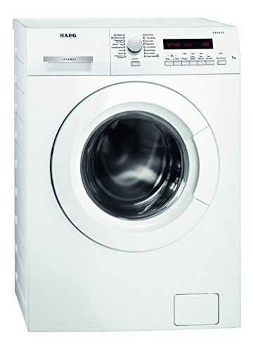 AEG L7347FL Waschmaschine / A+++ / 167 kWh/Jahr / 1400 UpM / 7 kg / Dampfprogramme / Beladungserkennung / Aqua-Control / weiß
