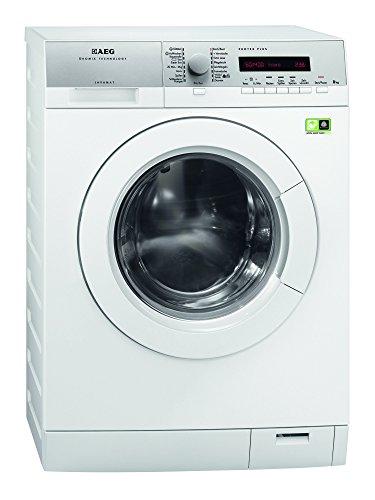 AEG L79685FL Waschmaschine FL / A+++ / 97 kWh/Jahr / 1600 UpM / 8 kg / Großes LC-Display / weiß