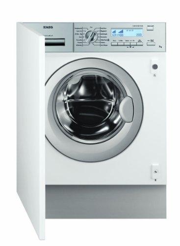 AEG L82470BI Einbau-Waschmaschine / A+++ / 1400 UpM / 7 kg / Knitterschutz / Aquastop / Weiß
