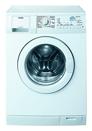 AEG LAVAMAT L6460AFL Waschmaschine FL / A+++ / 150 kWh/Jahr / 1400 UpM / 6 kg / 9535 L/Jahr / Alarmfunktion bei Wasseraustritt /Startzeitvorwahl / weiß