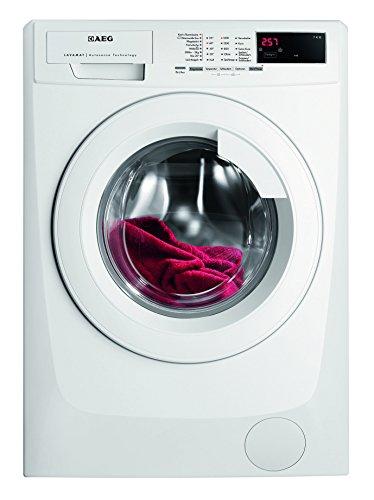 AEG LAVAMAT L68470FL Waschmaschine FL / A+++ / 171 kWh/Jahr / 1400 UpM / 7 kg / 9499 L/Jahr / XXL-Türöffnung /Einfache Bedienung / weiß