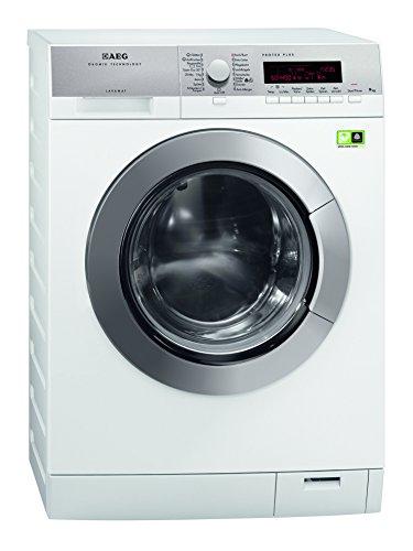 AEG LAVAMAT L89495FL2 Waschmaschine FL / A+++ / 105 kWh/ Jahr / 1400 UpM / 9 kg / 10499 L/ Jahr / ProTex Trommel / LogiControl LC-Display / edelstahl