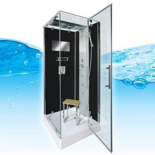 AcquaVapore DTP6038-2303R Dusche Dampfdusche Duschtempel Duschkabine -Th. 100x100, EasyClean Versiegelung der Scheiben:Nein! +0.-EUR