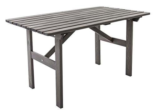 ambientehome gartentisch tisch massivholz esstisch hanko taupegrau m bel24. Black Bedroom Furniture Sets. Home Design Ideas