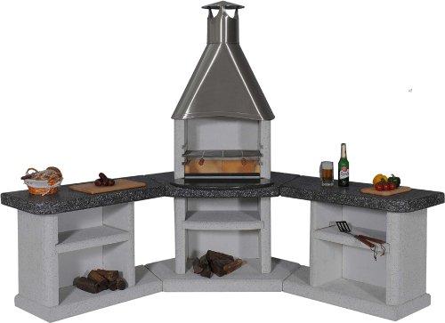 Ardea Außenküche Edelstahlhaube / Wellfire