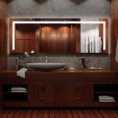 Arezzo - LED Badspiegel mit Beleuchtung - (B) 180 cm x (H) 80 cm