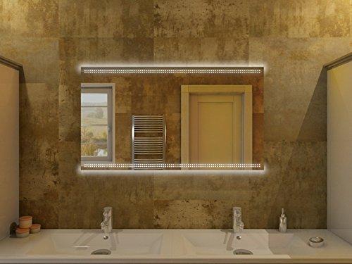 badspiegel mit beleuchtung barcelona f80l2h design. Black Bedroom Furniture Sets. Home Design Ideas