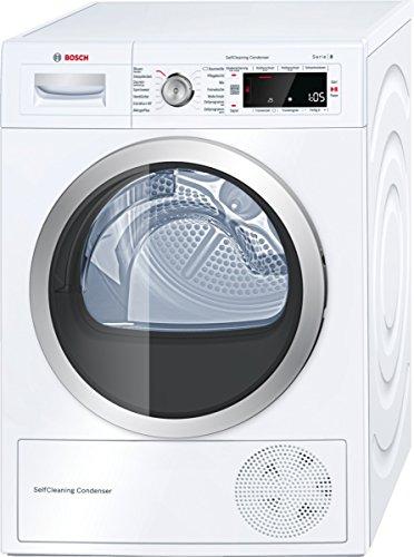 Bosch WTW8756A Wärmepumpentrockner / A++ / 8 kg / Selbstreinigender Kondensator / weiß