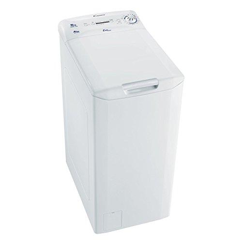 Candy EVOT 1005 1D Waschmaschine TL / A+ / 169 kWh / 1000 UpM / 5 kg / nur 40 cm breit / weiß
