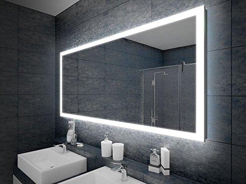 design badspiegel mit led beleuchtung wandspiegel badezimmerspiegel m bel24. Black Bedroom Furniture Sets. Home Design Ideas