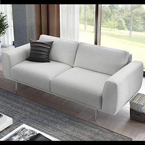 Designer sofa sofagarnitur 2 sitzer textil stoff couch for Couch 2 sitzer