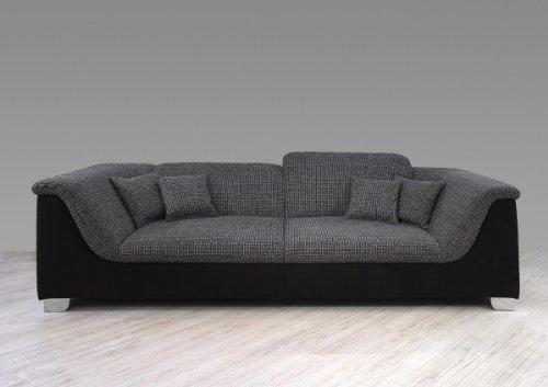 Dreams4home big sofa mara wohnlandschaft xxl couch for Big wohnlandschaft