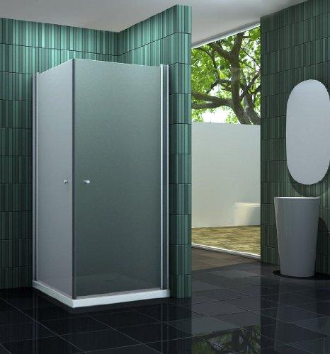 Duschkabine BANHO-F 90 x 90 cm ohne Duschtasse