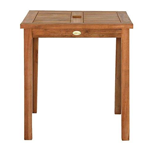 gartentisch 70x70cm aus massivholz teak natur modell. Black Bedroom Furniture Sets. Home Design Ideas
