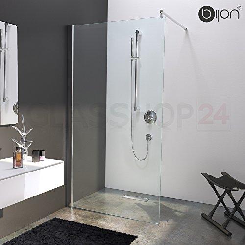 Hochwertige Design Duschwand mit Nanoeffekt | 110 x 200 cm | M1 bijon®