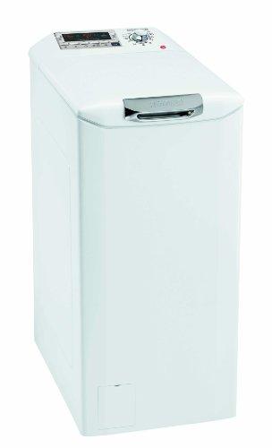 Hoover DYSM 6143 D3 Waschmaschine TL / A+++ / 153 kWh/Jahr / 1400 UpM / 6 kg / 8900 L/Jahr / XXL Öffnung mit Slow-Motion-Öffnungsmechanismus /ausklappbares Fahrwerk / weiß