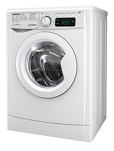Indesit EWDE 71680 W DE Waschtrockner / 952 kWh / MyTime Täglich-Schnell-Programme unter 1 Std / Aquastopp/ 1600 Umin / weiß