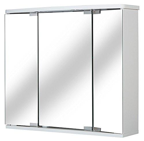 JOKEY Spiegelschrank »Funa LED 68 cm«, weiß