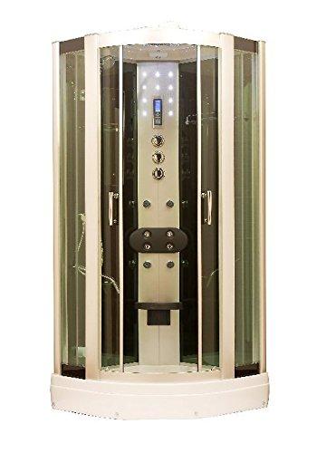 Jokey Dampfduschkabine SUPERsteam aluminium/grün/weiß