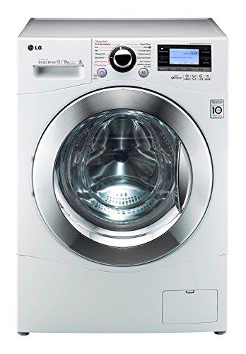 LG F 1695 RD Waschtrockner AA / 12 kg Waschen / 8 kg Trocknen / 1600 UpM / Beladungserkennung / Smart Diagnosis