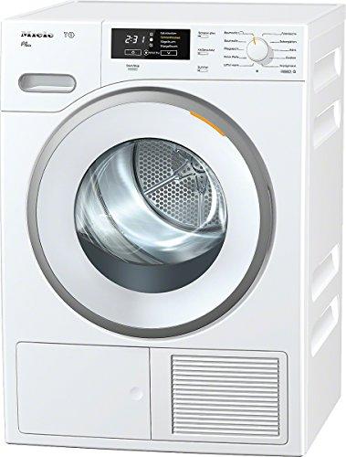 Miele TMB640WP D LW Eco Wärmepumpentrockner / A++ / 8 kg / Punktgenaue Trocknung für alle Textilien -PerfectDry / Duftende Wäsche, so wie Sie es mögen - Fragrance Dos / lotosweiß