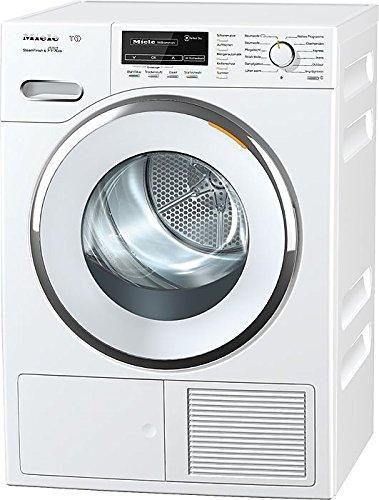 Miele TMG840WP D LW SFinish&Eco Wärmepumpentrockner / A+++ / 8 kg / Der schnelle Bügelersatz durch Dampfglätten - SteamFinish / weiß