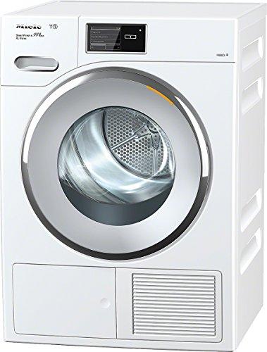 Miele TMV840WP D LW SFinish&Eco XL T Wärmepumpentrockner / A+++ / 9 kg / Intuitive Bedienung dank komfortablen Touchdisplays / Besonders große Beladungsmenge von 9,0 / lotosweiß