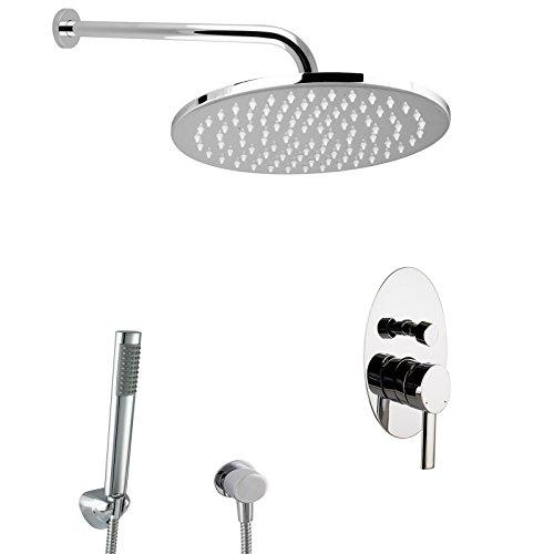 paulgurkes design regendusche komplett set oval unterputz duschset m bel24. Black Bedroom Furniture Sets. Home Design Ideas