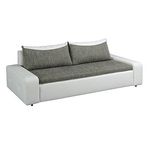 polstersofa 3 sitzer london mit schlaffunktion und bettkasten schlafsofa m bel24. Black Bedroom Furniture Sets. Home Design Ideas