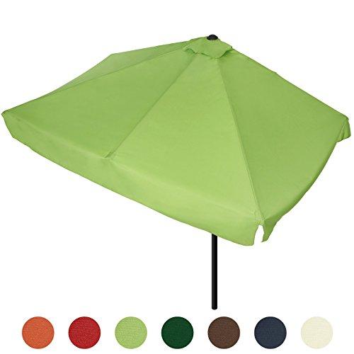 rechteckiger sonnenschirm sonnenschutz gartenschirm in 7 verschiedenen farben m bel24. Black Bedroom Furniture Sets. Home Design Ideas
