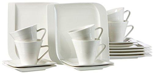 Ritzenhoff & Breker 039924 Kaffeeservice Levanto, 18-teilig