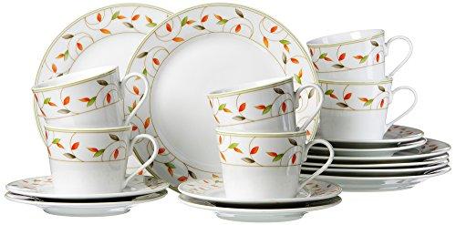 Ritzenhoff & Breker 039948 Kaffeeservice Elena, 18-teilig