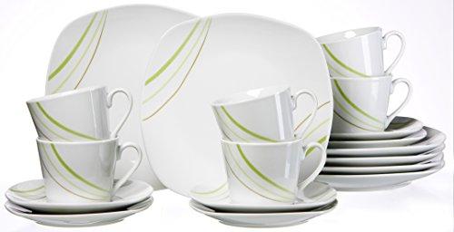 Ritzenhoff & Breker 043679 Kaffeeservice Sanna, 18-teilig