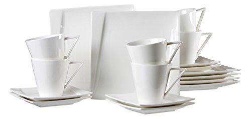 Ritzenhoff & Breker 60867 Kaffeeservice Adria, 18-er teilig
