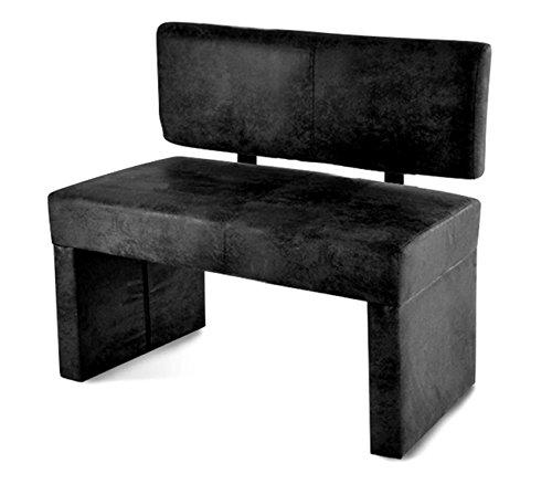sam moderne esszimmer sitzbank stella in wildlederoptik grau stoff 100 cm angenehme polsterung. Black Bedroom Furniture Sets. Home Design Ideas