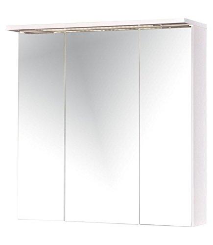 SCHILDMEYER Spiegelschrank »Flex, Breite 70 cm« weiß