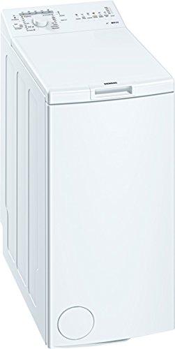 Siemens WP10R156 Waschmaschine TL / A++ / 173 kWh/Jahr / 949 UpM / 6 kg / 8926 L/Jahr / Großes Display mit Endezeitvorwahl / weiß