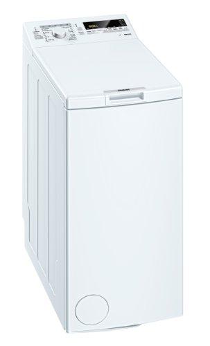 Siemens WP12T225 Waschmaschine Toplader / A++ B / 1200 UpM / 6 kg / weiß / Hemden-Programm / Knitterschutz